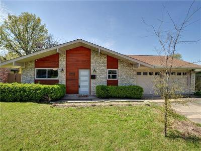 Austin Single Family Home For Sale: 1707 Wooten Dr