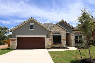 Round Rock TX Single Family Home For Sale: $367,866