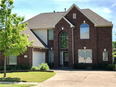 Manor Single Family Home Pending - Taking Backups: 11312 Runnel Ridge Rd