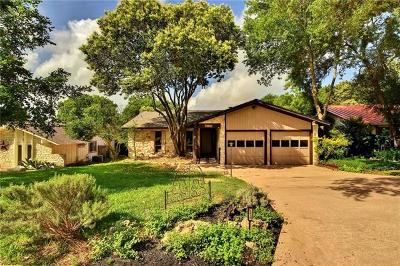 Austin Single Family Home Pending - Taking Backups: 4830 Canyonbend Cir