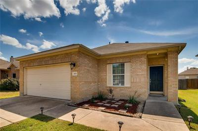 Leander Single Family Home Pending - Taking Backups: 809 Rancho Viejo