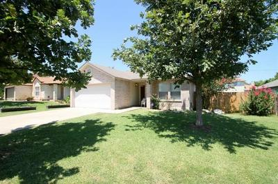 Round Rock Single Family Home Coming Soon: 2712 High Point Dr