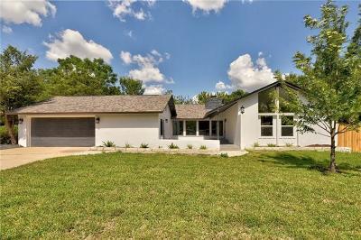 Austin Single Family Home For Sale: 7606 Glenhill Cv