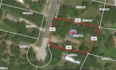 Leander Residential Lots & Land Pending - Taking Backups: 11505 Creek Bluff Cv