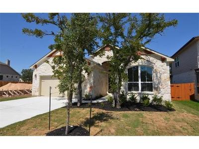 Cedar Park Single Family Home For Sale: 404 Happy Cow Ln