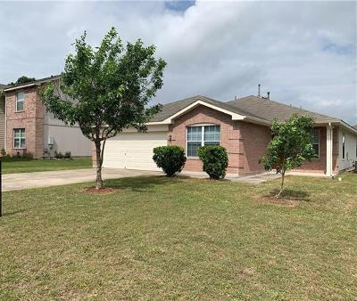 Kyle Single Family Home For Sale: 207 Dandelion Loop