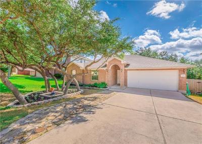 Leander Single Family Home For Sale: 2406 Granite Creek Dr