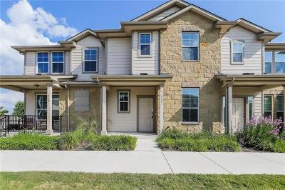Pflugerville Condo/Townhouse For Sale: 317 Crater Lake Dr