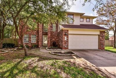 Cedar Park Single Family Home For Sale: 1908 Trafalger Cv