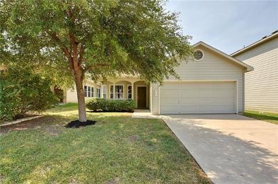 Hays County, Travis County, Williamson County Single Family Home Pending - Taking Backups: 8702 Meridian Oak Ln
