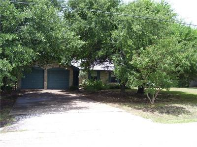 Georgetown Single Family Home Pending: 204 White Eagle Pass