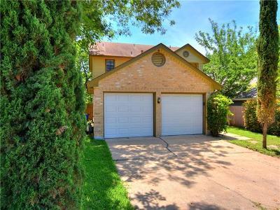 Travis County Single Family Home Pending - Taking Backups: 14475 Robert I Walker Blvd