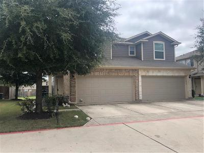 Pflugerville Condo/Townhouse For Sale: 14509 Charles Dickens Dr