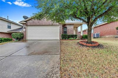 Pflugerville Single Family Home For Sale: 1805 Golden Sunrise Ln