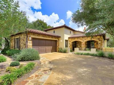 Austin Single Family Home For Sale: 4501 Spanish Oaks Club Blvd #11
