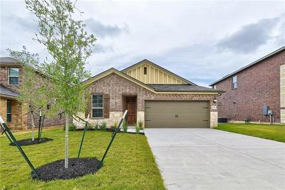 Round Rock TX Single Family Home For Sale: $324,990