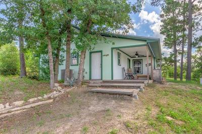 Bastrop Single Family Home Pending - Taking Backups: 194 Kelley Rd E