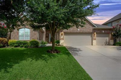 Round Rock Single Family Home Active Contingent: 4514 Cervinia Dr