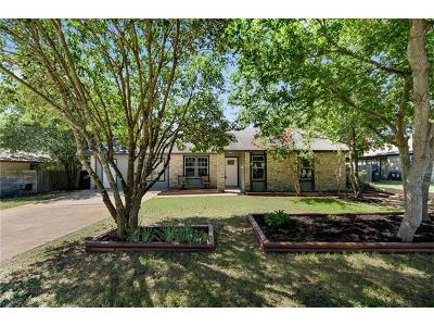 Leander Single Family Home For Sale: 702 Osage Dr