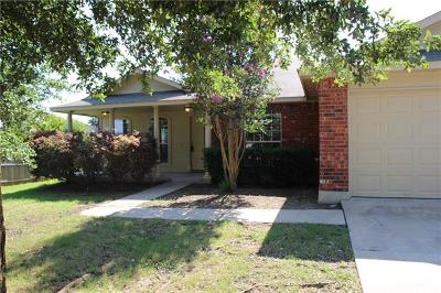 Round Rock Single Family Home For Sale: 2304 Butler Way