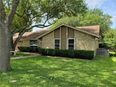 Round Rock Single Family Home Pending - Taking Backups: 1102 Deep Wood Dr