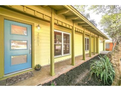 Austin Single Family Home Pending - Taking Backups: 2601 Pinewood Ter
