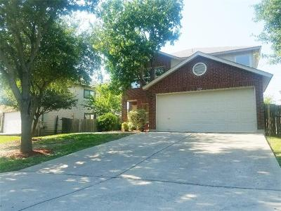 Round Rock Single Family Home Pending - Taking Backups: 1004 Collie Path