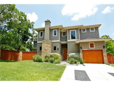 Austin TX Condo/Townhouse For Sale: $696,000