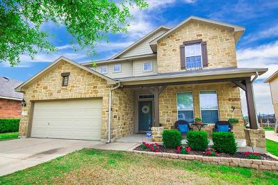 Hutto Single Family Home For Sale: 1008 Cockrill Ct