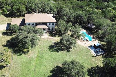 Marble Falls Single Family Home For Sale: 6309 Travis Peak Trl