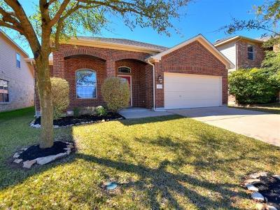 Cedar Park Single Family Home Pending - Taking Backups: 105 Saddle Ridge Dr