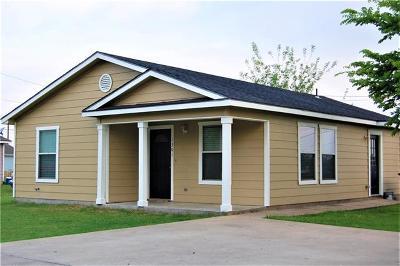 Lockhart Single Family Home Pending - Taking Backups: 1301 Monte Vista Dr