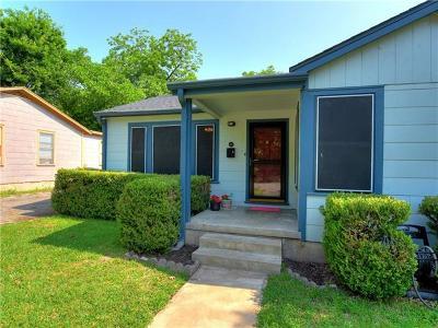 Austin Single Family Home Pending - Taking Backups: 610 Zennia St