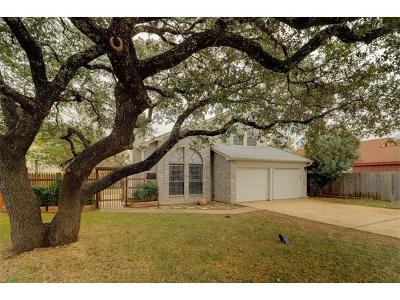 Leander Single Family Home For Sale: 2615 Armstrong Dr