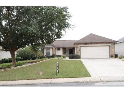 Georgetown Single Family Home For Sale: 109 Lantana Dr