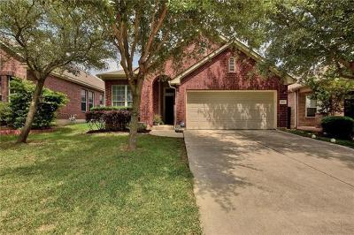 Round Rock Single Family Home For Sale: 2992 Peacemaker St