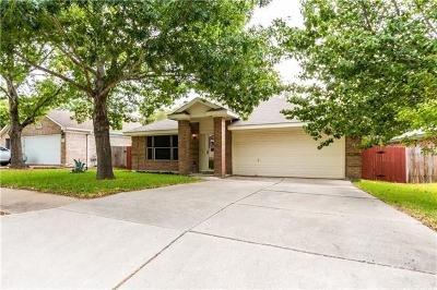 Pflugerville Single Family Home For Sale: 20825 Morgans Choice Ln