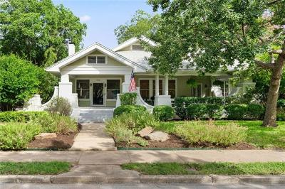 San Marcos Single Family Home For Sale: 734 W Hopkins St