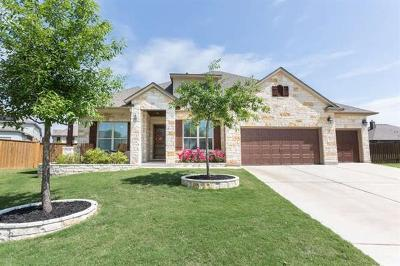 Round Rock Single Family Home For Sale: 2716 Margarita Ct