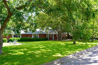 Burnet Single Family Home For Sale: 1505 Wofford Dr