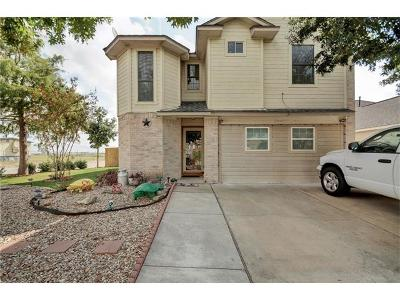 Del Valle Single Family Home Pending - Taking Backups: 7201 Great Panda Cv