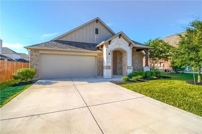 Pflugerville Single Family Home For Sale: 2317 Wind Vane West