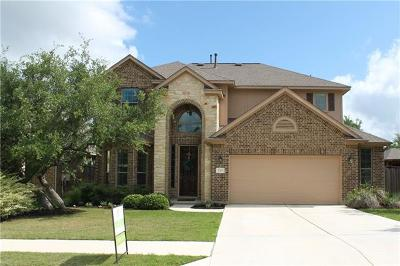 Leander Single Family Home For Sale: 2301 Lookout Range Dr