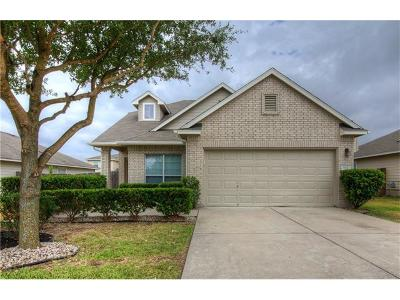 Hutto Single Family Home For Sale: 1110 Concan Dr
