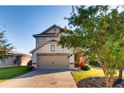 Leander Single Family Home For Sale: 724 Morgan Dr