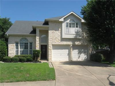 Round Rock Single Family Home Pending - Taking Backups: 16802 Bailey Jean Dr