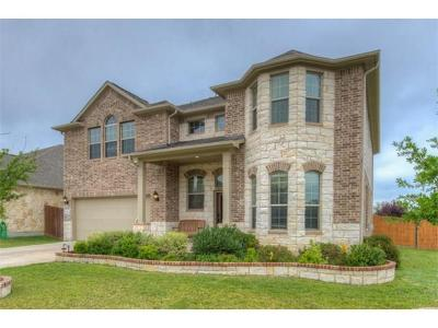 Round Rock Single Family Home For Sale: 2601 Mirasol Loop
