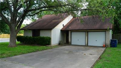 Austin Single Family Home For Sale: 4507 Franklin Park Dr