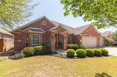 Round Rock Single Family Home For Sale: 4005 Chancery Ct