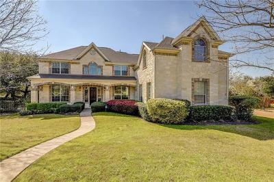 Round Rock Single Family Home For Sale: 3241 Bay Hill Ln